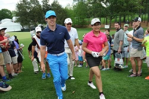 Rory McIlroy Plays Pro-Am w/ 13-Year Old Girl