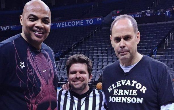 3 Point Shootout: Ernie Johnson Versus Charles Barkley