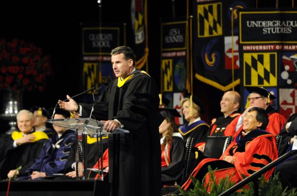 Under Armour Founder Delivers Commencement Speech