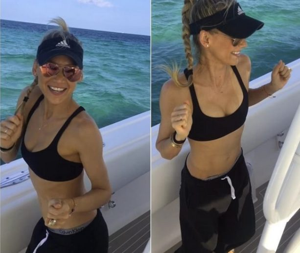 Anna Kournikova Getting Down on a Boat