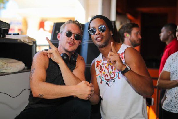 Ronaldinho Parties at Wynn Las Vegas