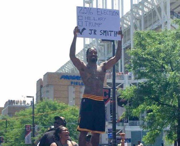 JR Smith For President?