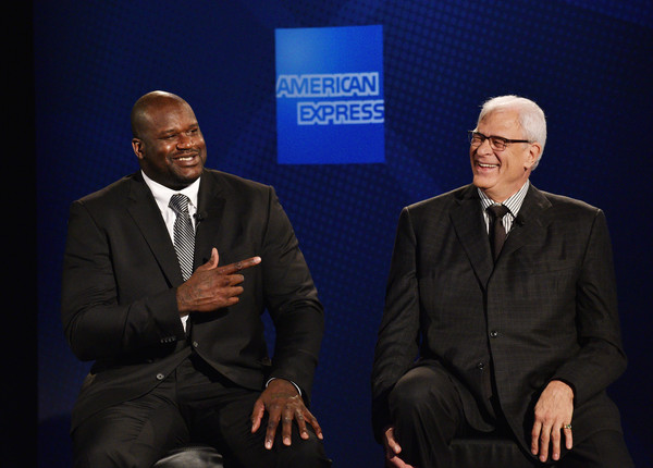 Phil+Jackson+American+Express+Teams+Up+Shaquille+iaqWGmwI_iVl