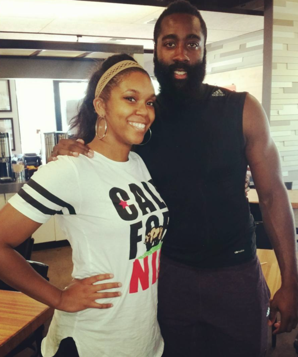 Big, Tall, fat, small, James Harden smashes them all...