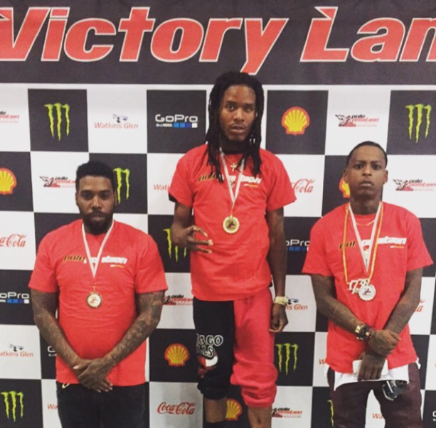 Rapper Fetty Wap Has a Need for Speed on His Birthday
