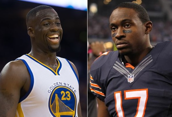 Draymond Green was Working Alshon Jeffery's Ex Fiance