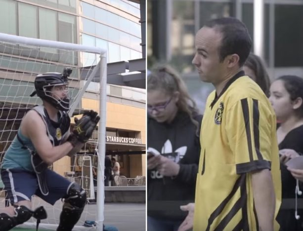 Landon Donovan Goes 1-on-1 with Soccer Fans