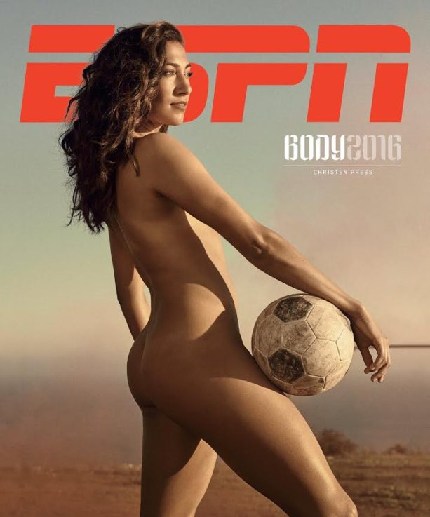 USWNT's Christen Press Nude for Body Issue