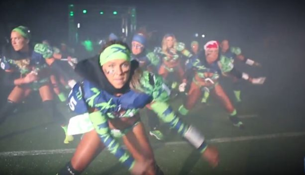 The Lingerie Football League Has Some Dope Introductions