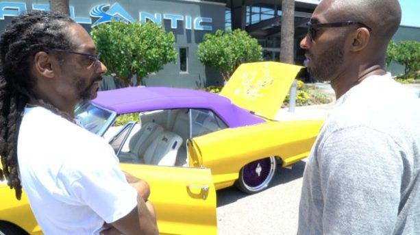 Snoop Dogg Gifted Kobe a Car for His Retirement