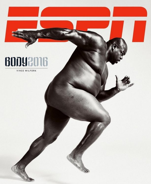 Vince Wilfork's ESPN Body Issue Cover