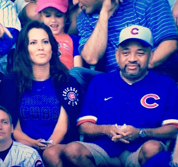Michael Wilbon Brings Hottie to Cubs Game?