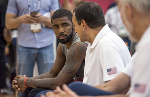Coach K Drops F-Bombs on Kyrie Irving