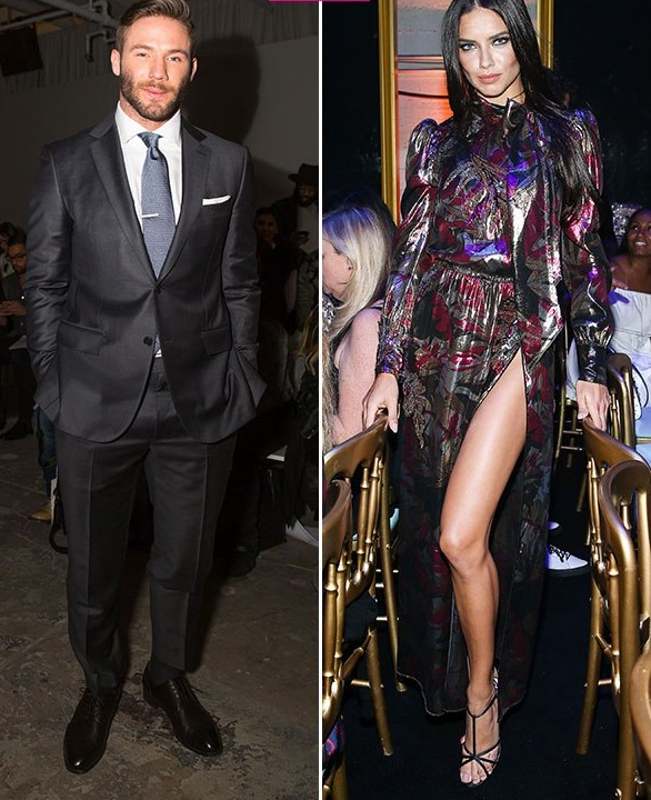 Julian Edelman Spotted with Supermodel Adriana Lima