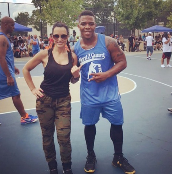 Ray Rice Getting a Tryout with a Porn Star?