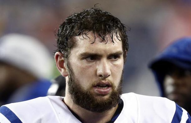 Andrew Luck Denies Report He Doesn't Shower