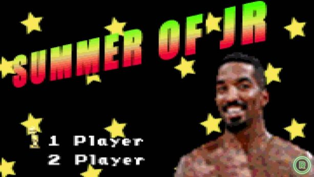 This JR Smith VIDEO GAME is SICK