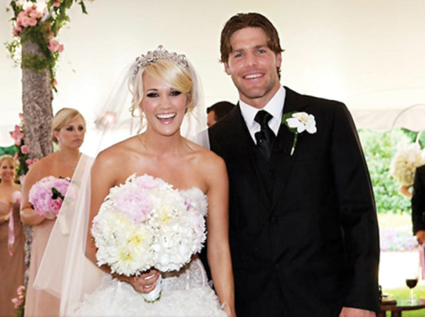 Mike Fisher Admits he Married Up with Carrie Underwood