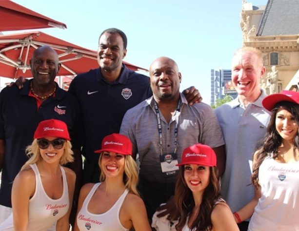 NBA Legends Enjoying Las Vegas