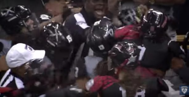 Bench-Clearing Brawl in the Lingerie Football League