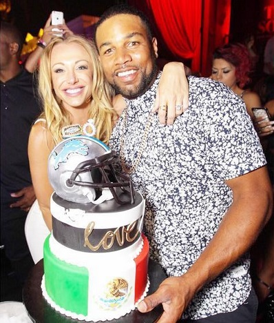 Golden Tate and Fiance Merge Bachelor/Bachelorette Parties