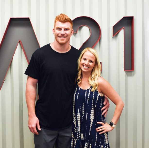 Andy Dalton and Wife are Anti-Slavery