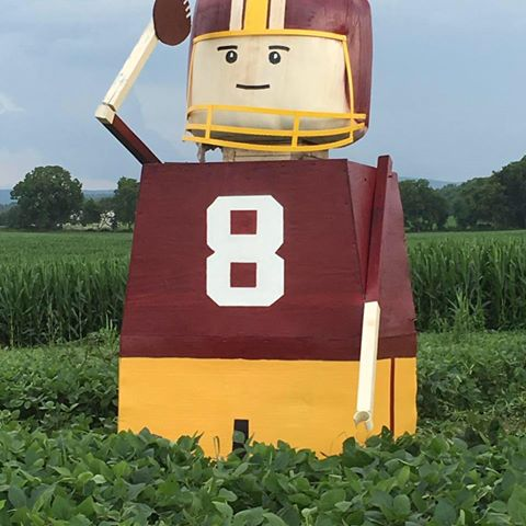 The Kirk Cousins Corn-Maze is a Real Thing