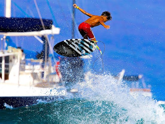 Watch This 13 Year Old Shred Maui ⋆ Terez Owens : #1 Sports