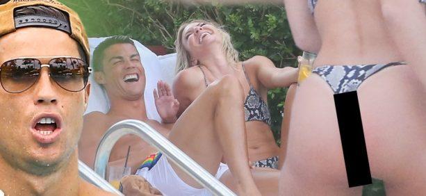 Cristiano Ronaldo Spotted in Miami with Model