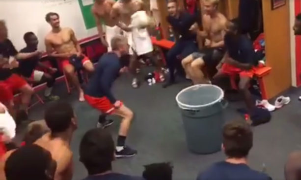 Locker Room Tricks Makes Soccer Team Explode