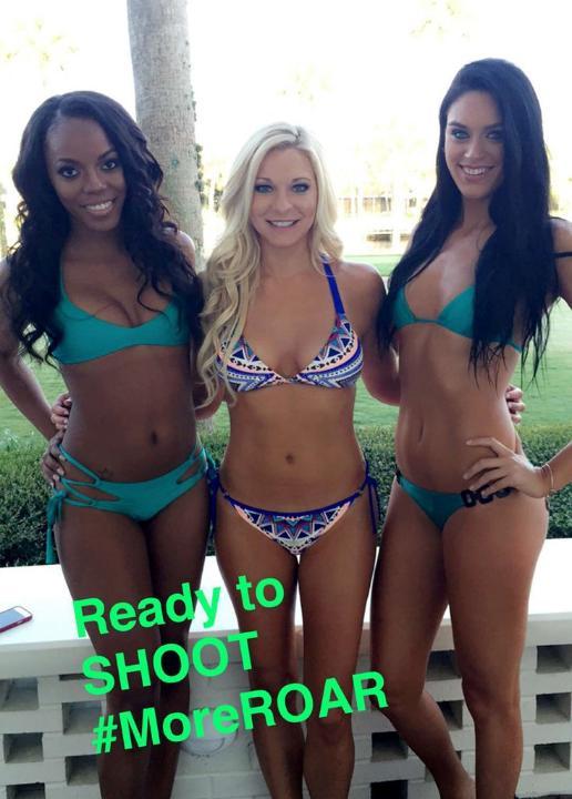 Behind the Scenes from the Jaguars Cheerleaders