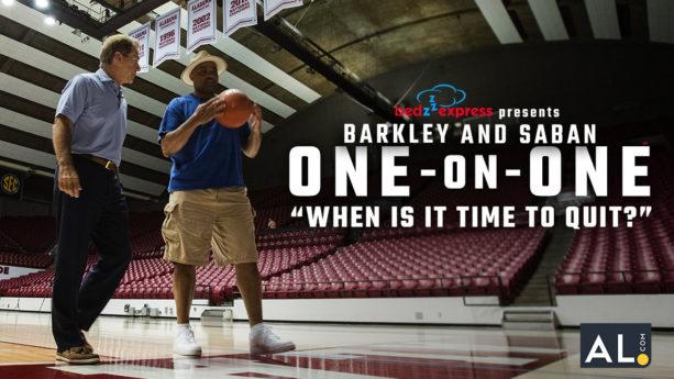 Charles Barkley Goes in Deep with Nick Saban